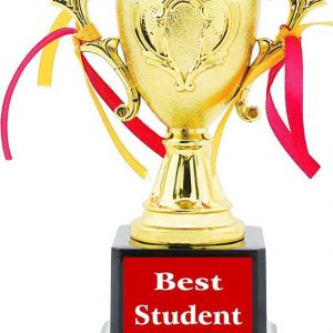 Best Student Trophy Award Gift By Aark India Pc 00240 By Aark Original Imaetveezwfhqpby